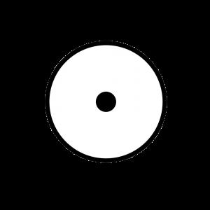 DECAL 556-110-510-Single-Circle-Aiming-Mark