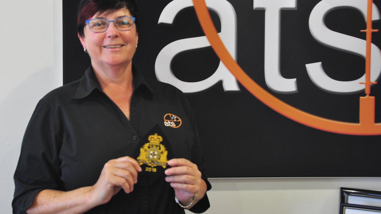 Michelle Fletcher wins A Grade Badge